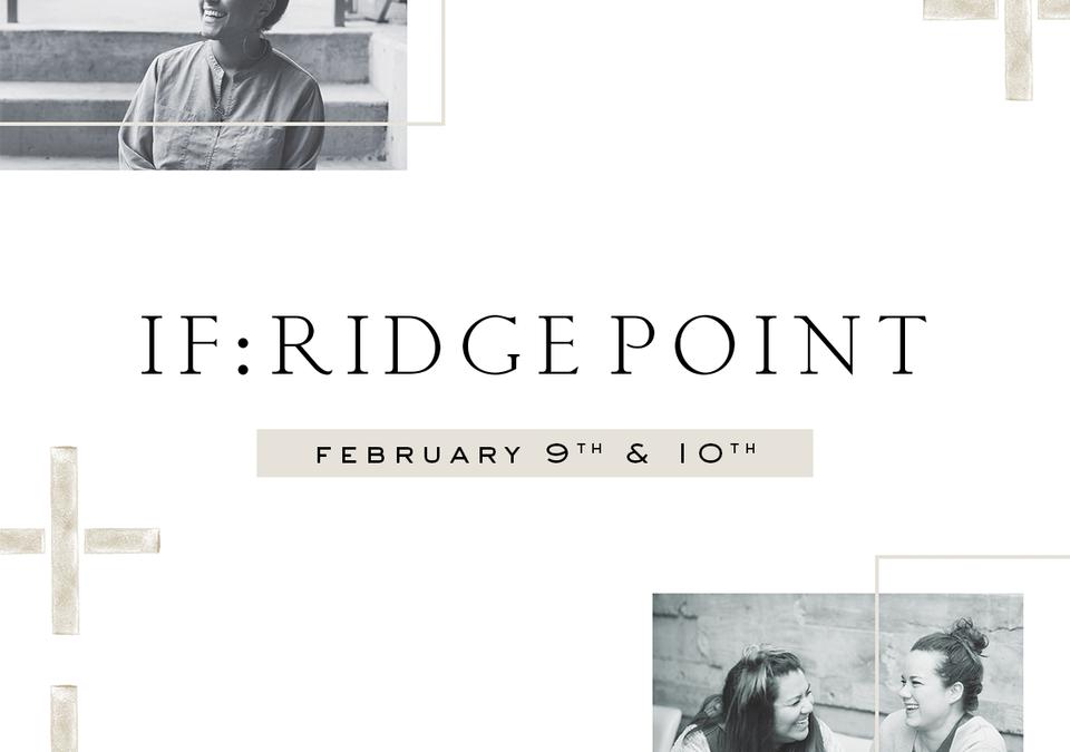 IF: Ridge Point