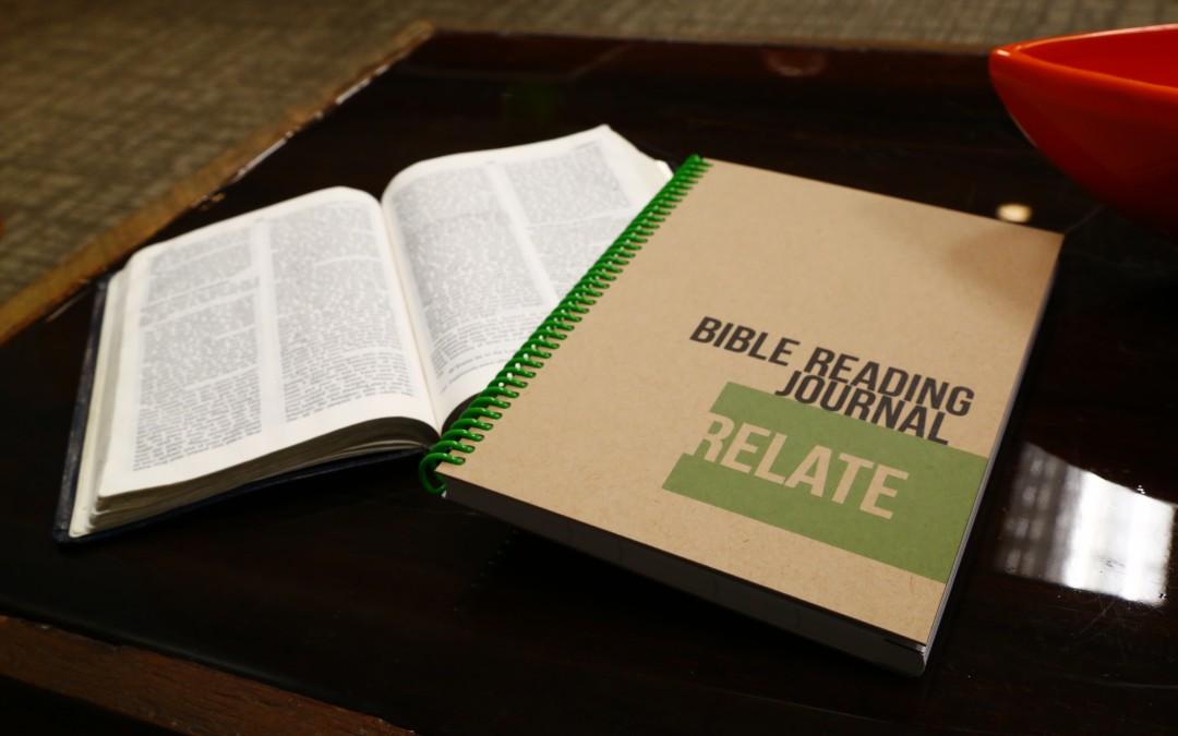Relate Reading Journal