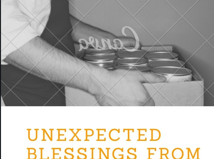 Unexpected blessings from serving.