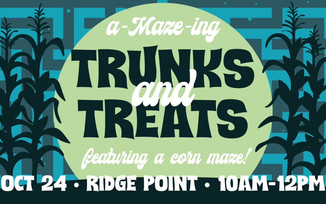 Be A Bridge With A-Maze-ing Trunks and Treats