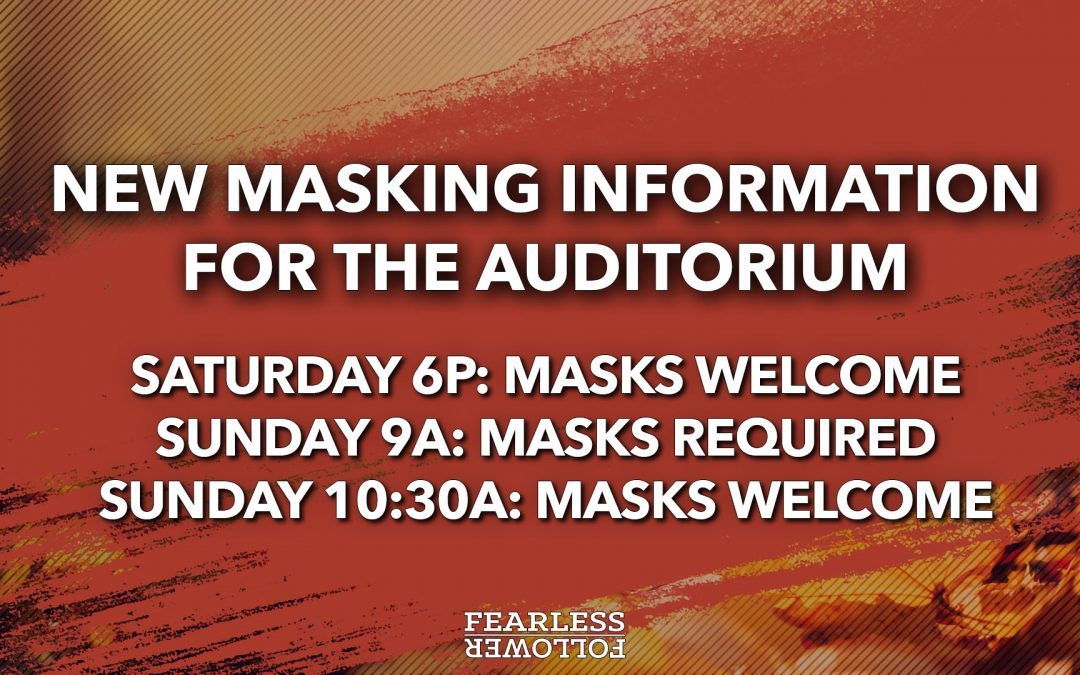 Mask and Service Reminder
